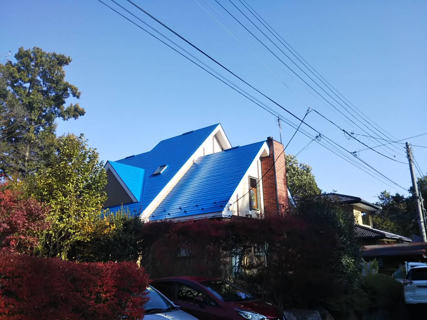 【那須町】H様邸 屋根塗装工事