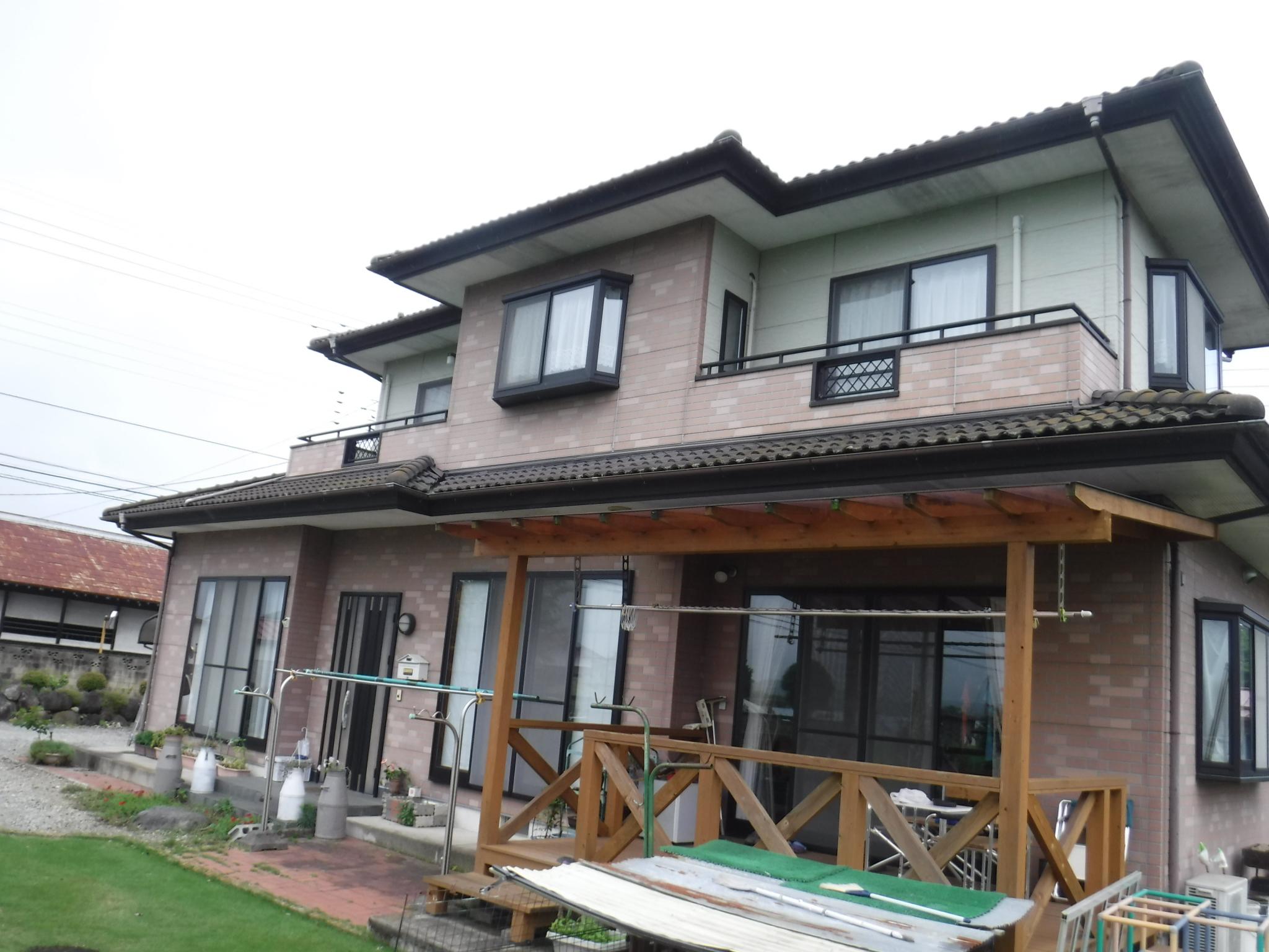 【大田原市】H様邸 屋根外壁他塗装工事