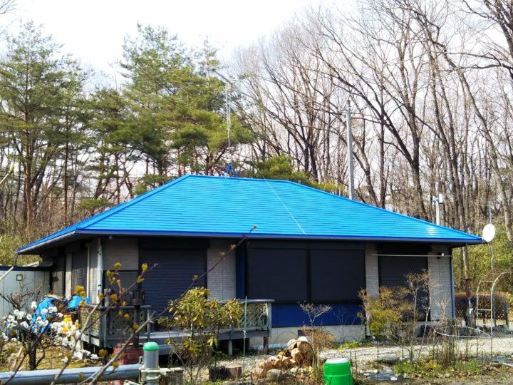 【那須塩原市】Y様邸 屋根塗装工事