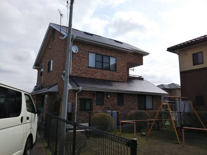 【那須塩原市】I様邸 屋根塗装・リフォーム工事
