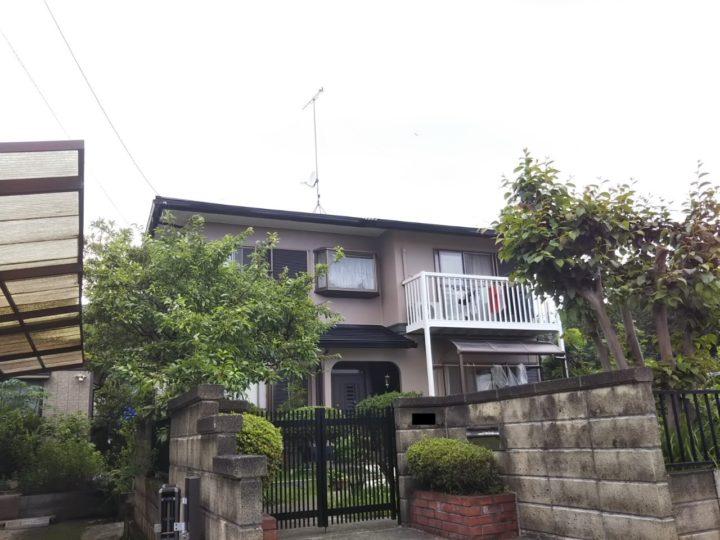【矢板市】M様邸 屋根外壁他塗装工事
