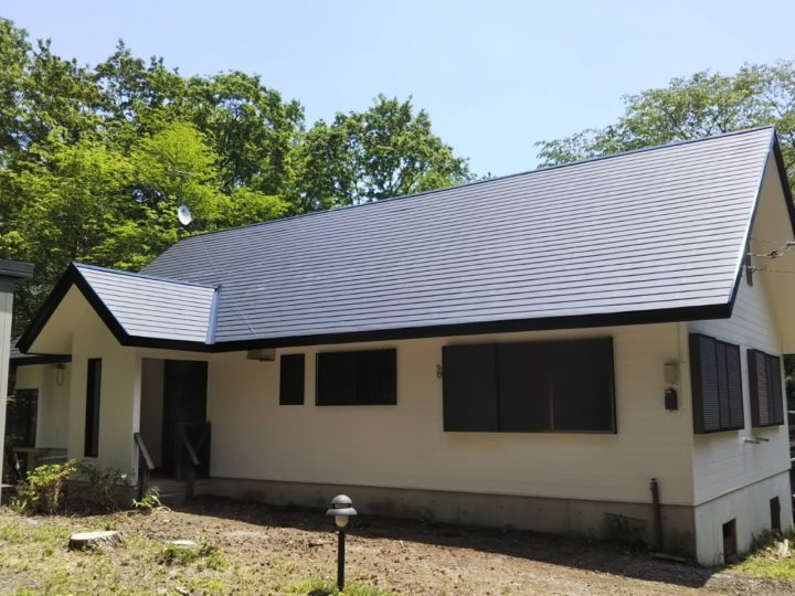【那須町】S様邸 屋根カバー・外壁他塗装工事