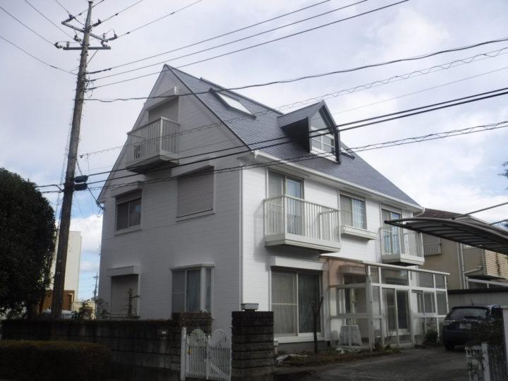 【那須塩原市】H様邸 屋根外壁他塗装工事