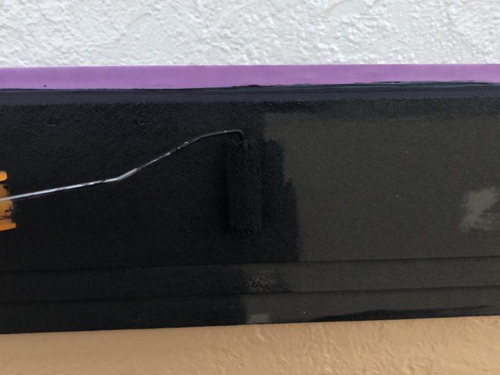 幕板 塗装1回目