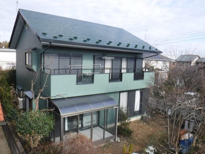【那須塩原市】T様邸 屋根外壁他塗装工事