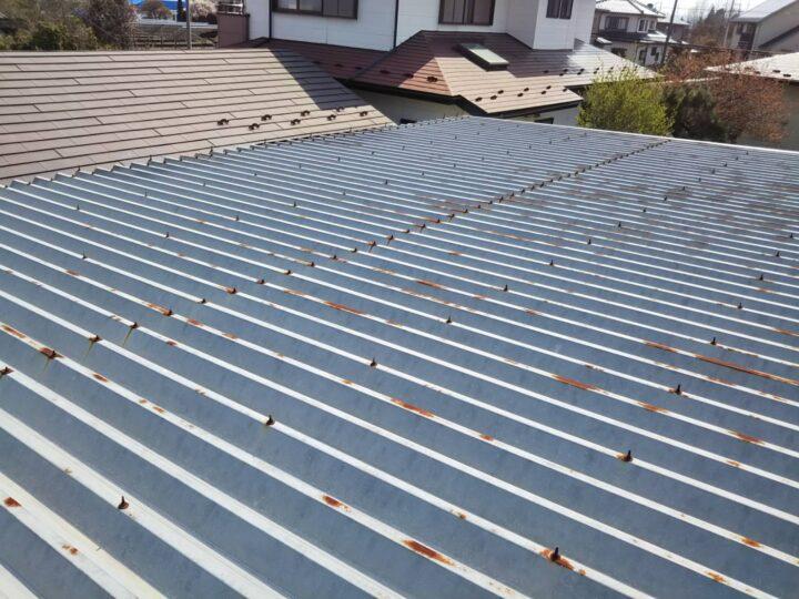 カーポート屋根 サビ