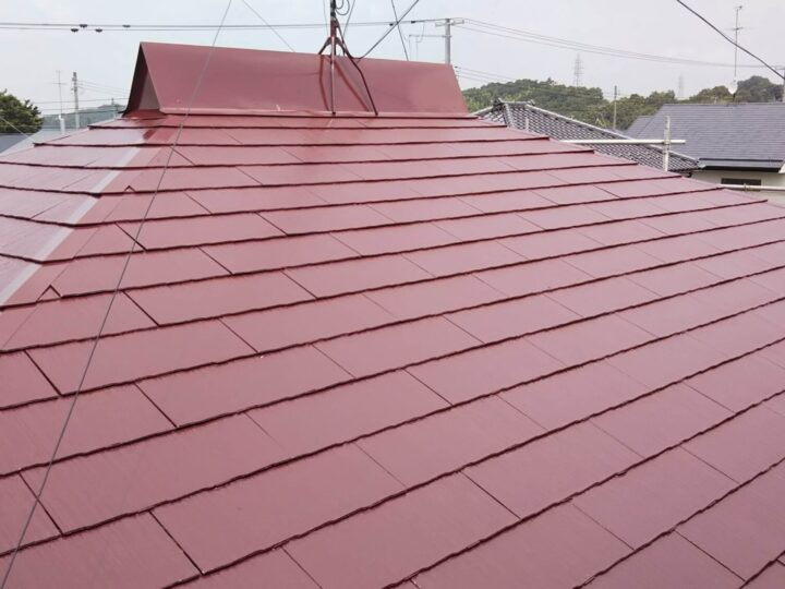 K様邸 屋根塗装工事