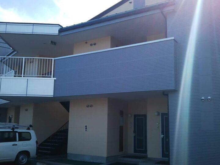アパート 屋根外壁塗装工事