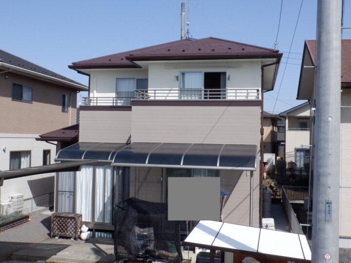 【宇都宮市】 O様邸 屋根・外壁塗装