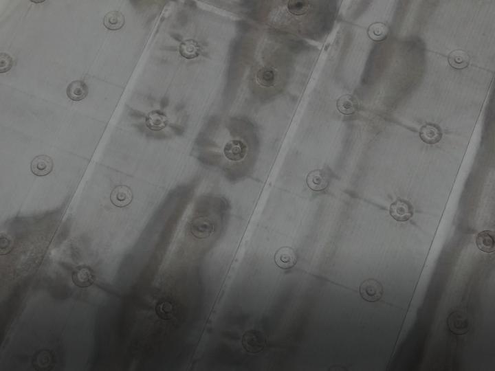 屋上防水の劣化