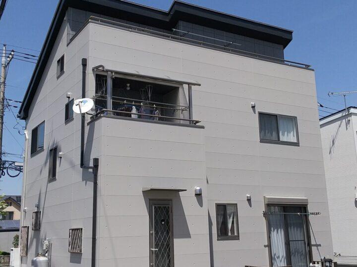 【宇都宮市】O様邸 外壁塗装工事