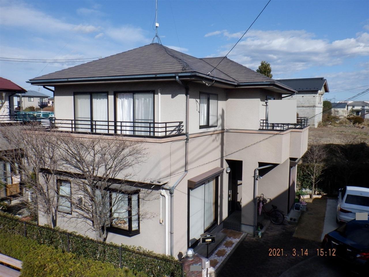 【宇都宮市】H様邸 屋根外壁塗装工事