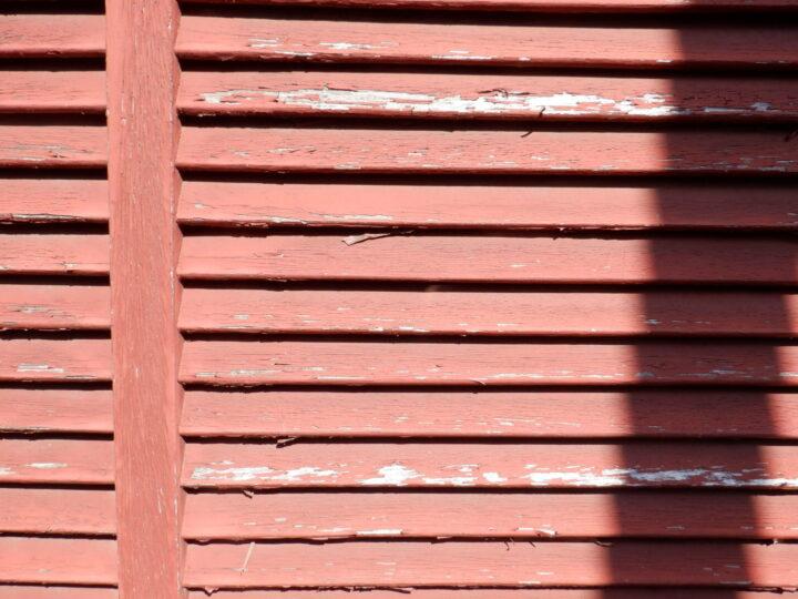 木部 色あせ・塗膜の剝離