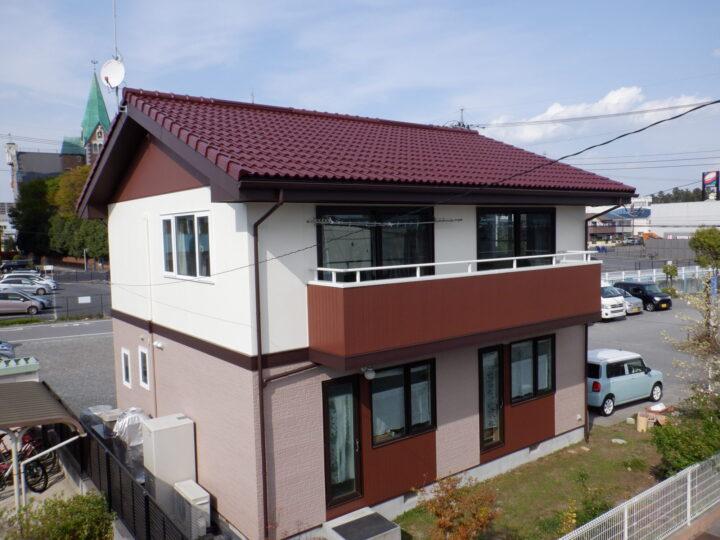 【宇都宮市】 K様邸 屋根外壁塗装工事