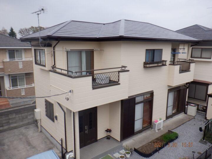【宇都宮市】E様邸 屋根・外壁塗装工事