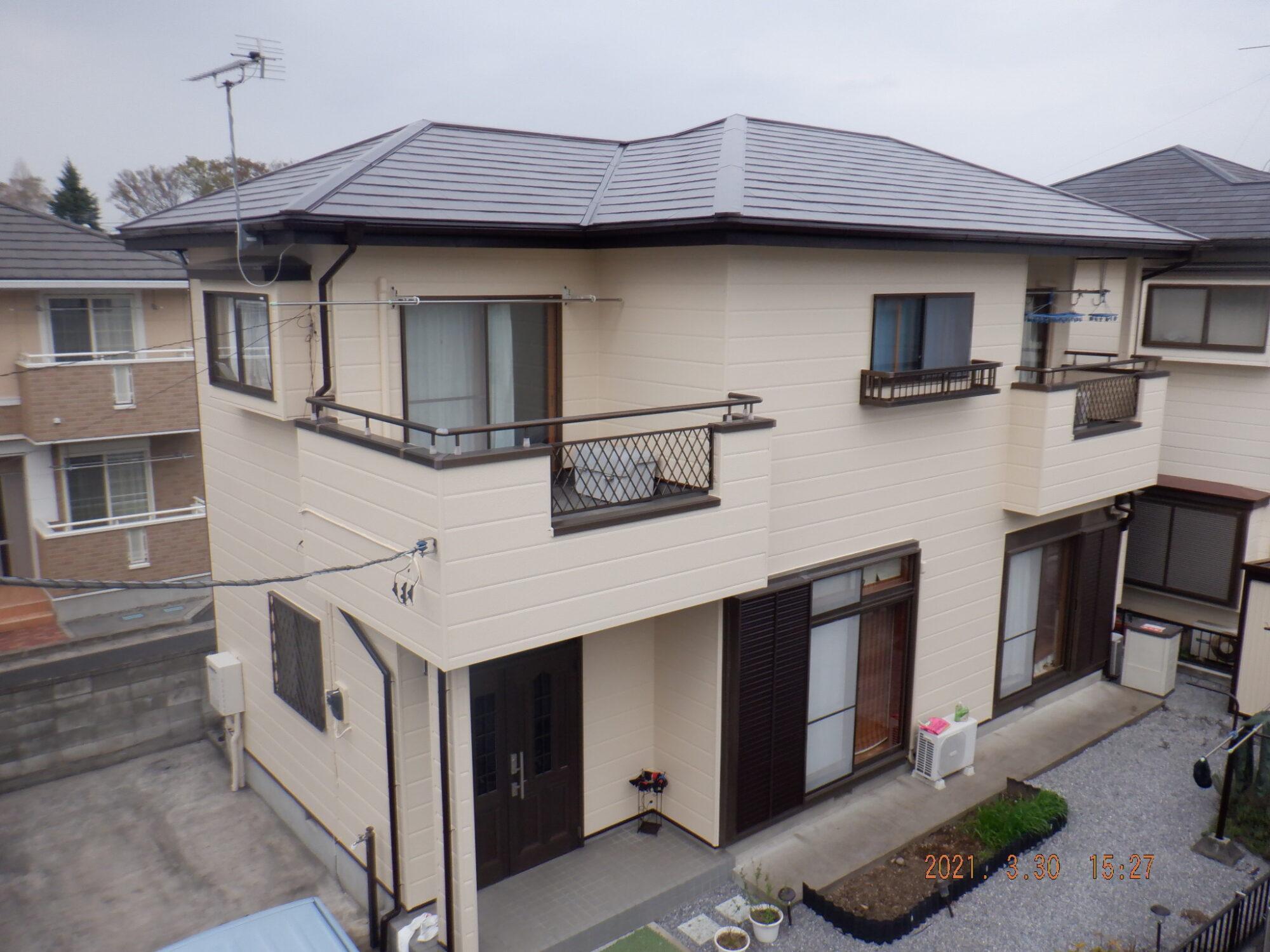 【宇都宮市】E様邸 屋根外壁塗装工事