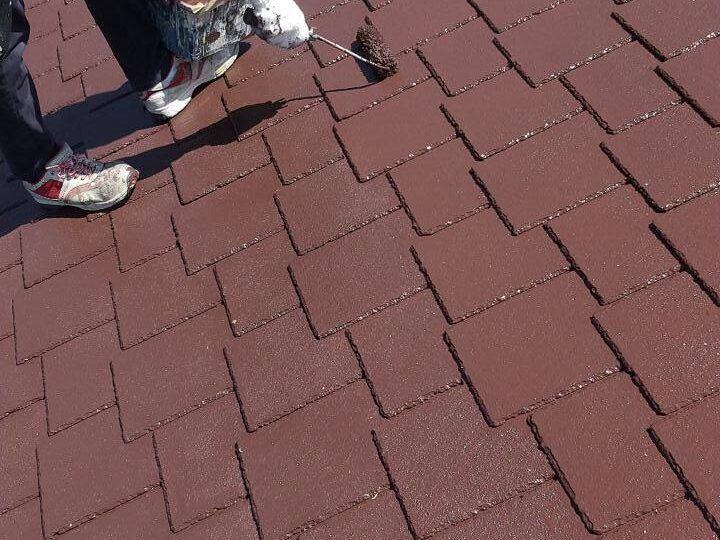 屋根 上塗