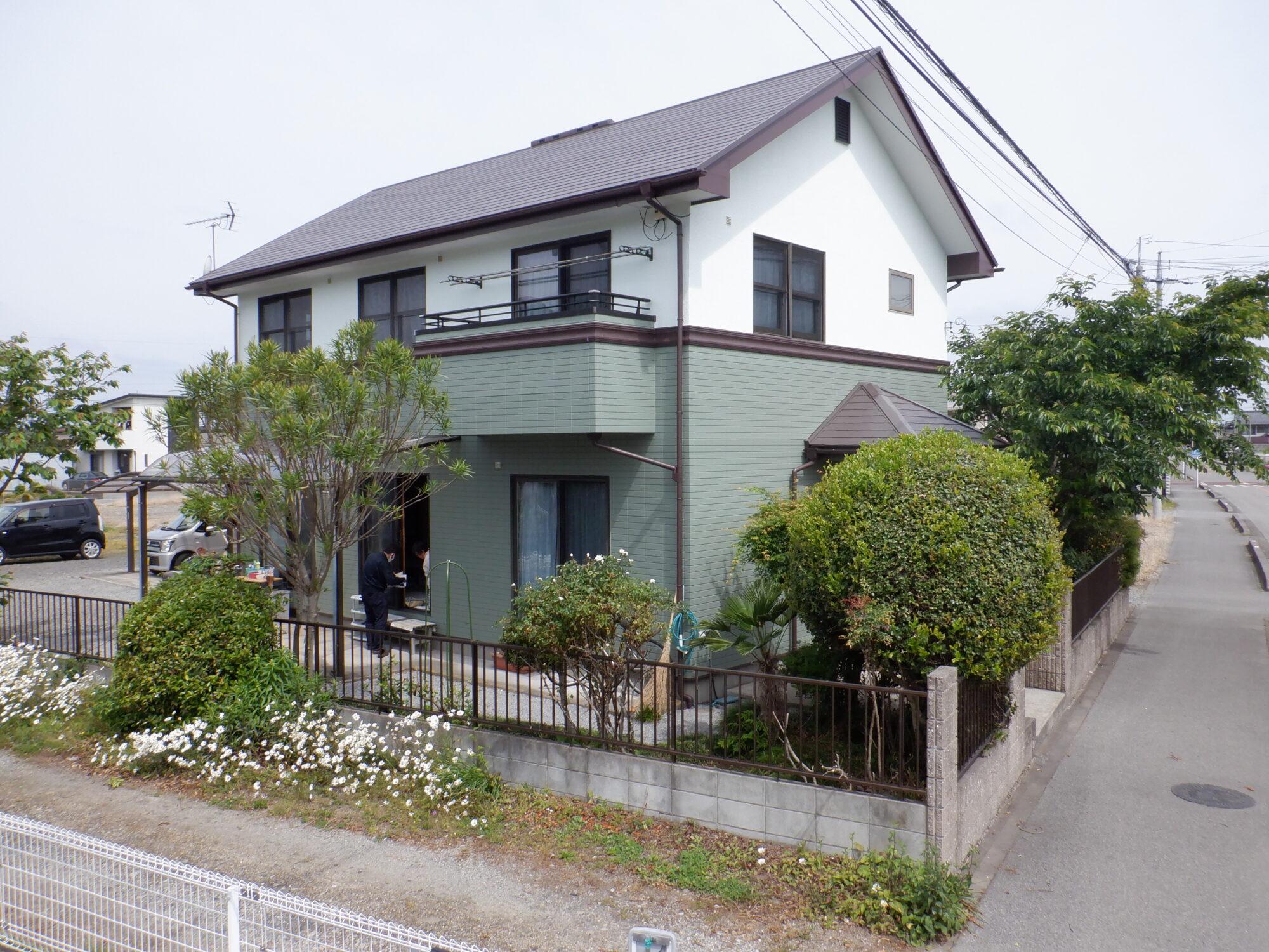 【高根沢町】A様邸 屋根外壁塗装工事