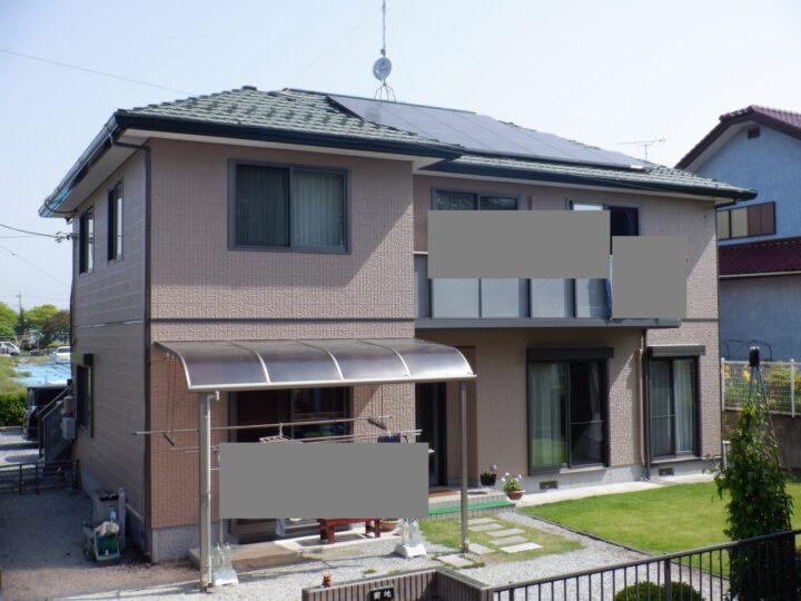 【宇都宮市】K様邸 外壁塗装工事