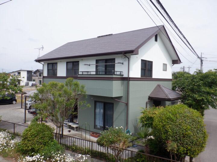 【高根沢町】 A様邸 屋根・外壁塗装工事
