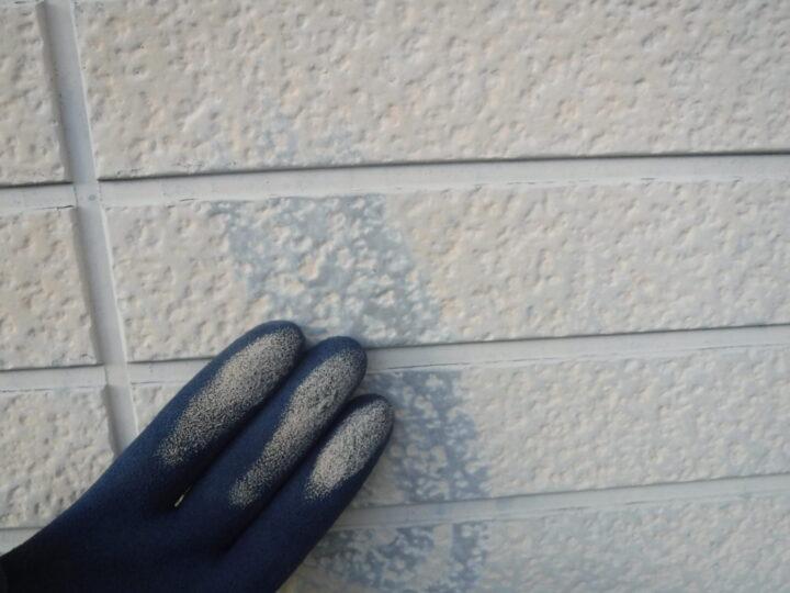 外壁 チョーキング現象