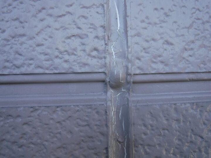 外壁 シーリングひび割れ
