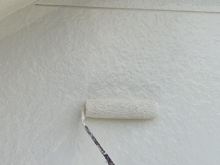 外壁(2階) 上塗り