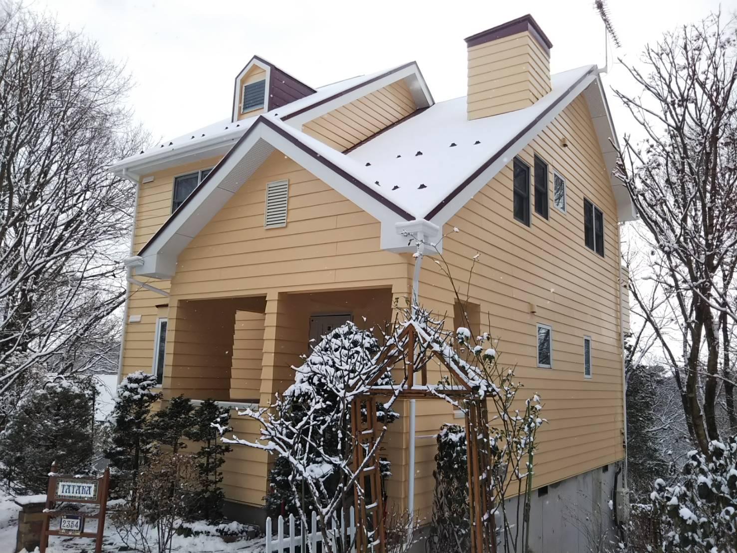 【那須町】T様邸 屋根塗装、外壁塗装、ポリカ交換
