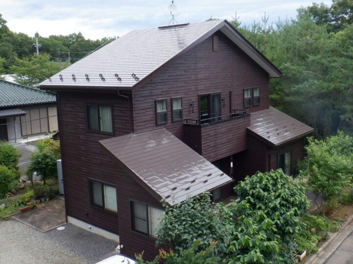 【那須塩原市】I様邸 屋根外壁他塗装工事