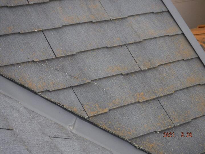 屋根 劣化、ひび割れ