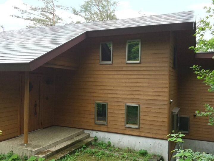 【那須町】U様邸 屋根外壁塗装工事