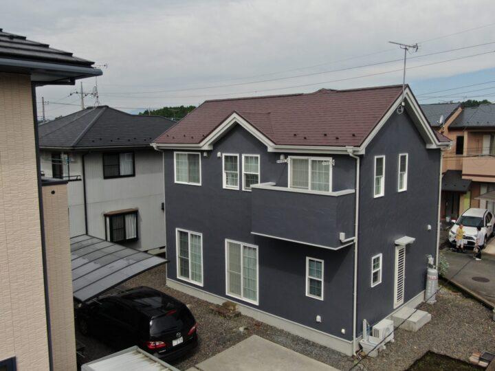 【宇都宮市】T様邸 屋根外壁塗装工事