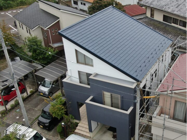 【宇都宮市】T様邸 屋根カバー外壁塗装工事