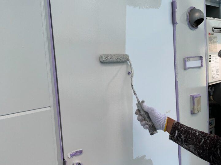 ドア 中塗り