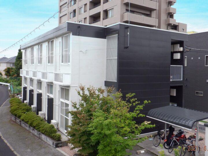 【宇都宮市】Eアパート 屋根・外壁塗装工事